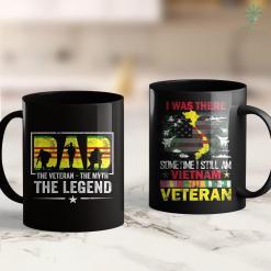 Vietnam Veterans Association Dad The Veteran The Myth The Legend Vietnam Veteran 11Oz 15Oz Black Coffee Mug %tag familyloves.com