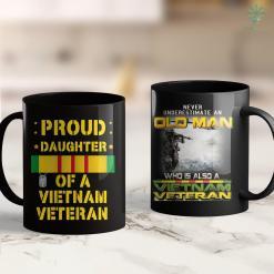Veterans Pick Up Furniture Mens Being Vietnam Veteran Is An Honor Papa Is Priceless 11Oz 15Oz Black Coffee Mug %tag familyloves.com