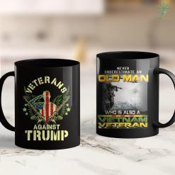 Vietnam War Hat Veterans Against Trump 2020 Military Families Vietnam Vets 11Oz 15Oz Black Coffee Mug %tag familyloves.com