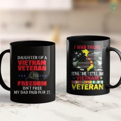Vietnam War Soldiers List Daughter Of A Vietnam Veteran Proud Army Veteran 11Oz 15Oz Black Coffee Mug %tag familyloves.com