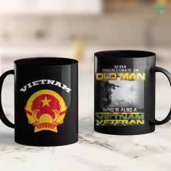 Vietnam Veterans Of America Address 1961 Vietnam Era 1975 Emblem Cool Logo Veteran Soldier Gift 11Oz 15Oz Black Coffee Mug %tag familyloves.com