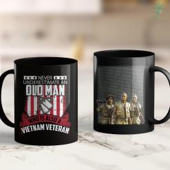 Wall Names Never Underestimate Old Man Who Is A Vietnam Veteran 11Oz 15Oz Black Coffee Mug %tag familyloves.com
