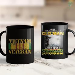 Wall Names Vietnam Veteran Flag Service Ribbon Patch Men Gift 11Oz 15Oz Black Coffee Mug %tag familyloves.com