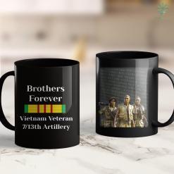 War Wall Mens Brothers Forever Vietnam Veteran 713Th Artillery 11Oz 15Oz Black Coffee Mug %tag familyloves.com