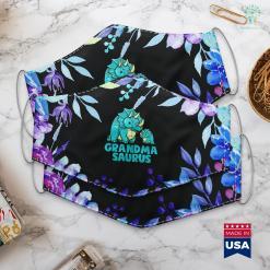 What To Get Grandma For Christmas Grandma Saurus Dinosaur Funny Grandmasaurus For Nana Face Mask Gift %tag familyloves.com