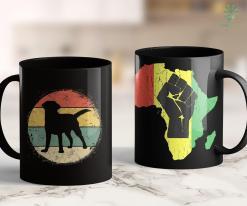 What Does Blm Mean Circular Retro Labrador Owner Gift Golden Black Lab Dad Mom 11Oz 15Oz Black Mug %tag familyloves.com