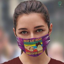 What To Give Your Mom For Christmas Funny Cat Mom Gift Best Cat Mom Ever Face Mask Gift %tag familyloves.com