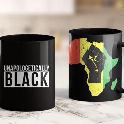 White People For Black Lives Unapologetically Black Shirt Black Lives Matter 11Oz 15Oz Black Mug %tag familyloves.com