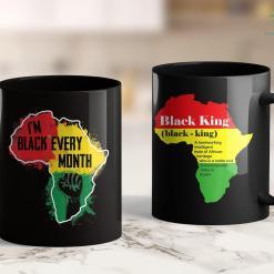 Why Do Black Lives Matter Black History Month Shirt Men Women I'M Black African Tribe 11Oz 15Oz Black Mug %tag familyloves.com