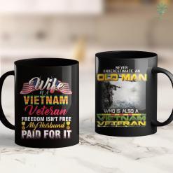 Vets Donations Grumpy Old Vietnam Veteran Grandpa Gift 11Oz 15Oz Black Coffee Mug %tag familyloves.com