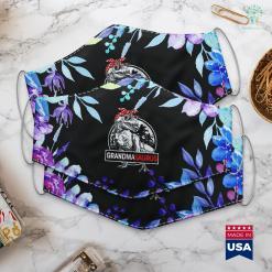 Xmas Gifts For Grandma Grandmasaurus T Rex Dinosaur Grandma Saurus Family Matching Face Mask Gift %tag familyloves.com