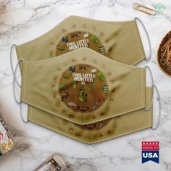 308 Hunting Rifle Kids 5Th Birthday Hunting Boys Funny Deer Hunter Gift Tee Cloth Face Mask Gift %tag familyloves.com