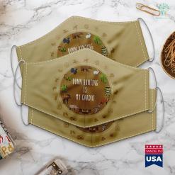 Bass Pro Utica Ny Dunn Hunting Is My Cardio Cloth Face Mask Gift %tag familyloves.com