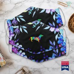 Dog Bakery Tie Dye Dog Hippie Dachshund Retro Puppy Gift Face Mask Gift %tag familyloves.com