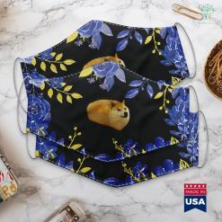 Maltese Dogs Fashion Shiba Inu Doge Bread Meme Dog Face Mask Gift %tag familyloves.com