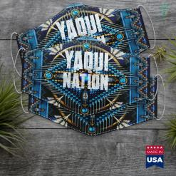 Native American Astrology Yaqui Nation Gift For Native American From The Yaqui Tribe Cloth Face Mask Gift %tag familyloves.com