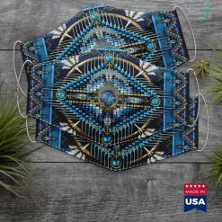 Native American Jobs Sitting Bull Native American Indian Chief Lakota Sioux Pride Cloth Face Mask Gift %tag familyloves.com