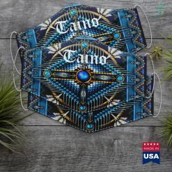 Native American Saint Taino Tribe Indigenous Native Caribbean Cloth Face Mask Gift %tag familyloves.com