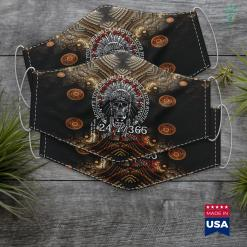 Native American Wedding Dresses Hustle 247 Native American Hip Hop Hustlers Christmas Gift Cloth Face Mask Gift %tag familyloves.com