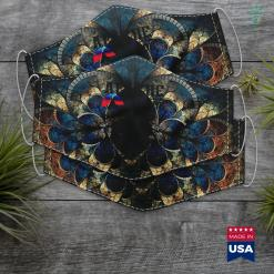Oregon Native American Tribes Proud Apache Pride Native American Its Is In My Dna Cloth Face Mask Gift %tag familyloves.com