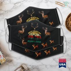Pa Hunting Seasons Best Buckin Poppy Ever Deer Hunting Bucking Cloth Face Mask Gift %tag familyloves.com