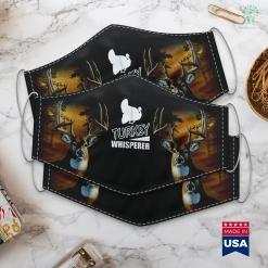 Poodle Hunting Dog Wild Turkey Whisperer Hunting Hunter Gift Cloth Face Mask Gift %tag familyloves.com