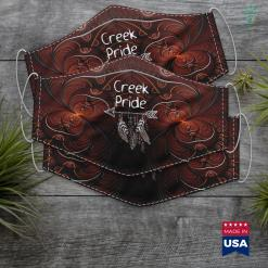 Southwest Native American Creek Pride Native American Proud Men Women Kids Tee Gift Cloth Face Mask Gift %tag familyloves.com
