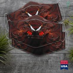 Southwest Native American Tribes Chippewa Cree By Blood Native American By Birthright Cloth Face Mask Gift %tag familyloves.com