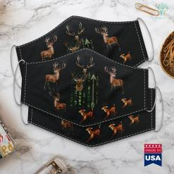 Sword And Shield Shiny Hunting Camouflage Usa Flag American Deer Hunting Bow Gift Cloth Face Mask Gift %tag familyloves.com