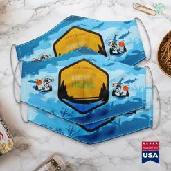 Tx Fishing Forum I Speak 3 Languages Sarcasm Hunting And Fishing Vintage Cloth Face Mask Gift %tag familyloves.com