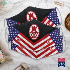 130Th Maneuver Enhancement Brigade Us Army Armed Forces Symbols Cloth Face Mask Gift %tag familyloves.com