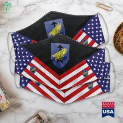 26Th Airborne Brigade Saarland German Bundeswehr West Point Emblem Cloth Face Mask Gift %tag familyloves.com