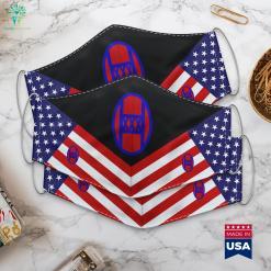 3 Commando Brigade Uk Army Rank Colonel Cloth Face Mask Gift %tag familyloves.com