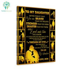 To My Daughter-In-Law I Did Not Get To Choose You That Honor Was My Son's Canvas %tag familyloves.com