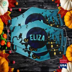 Elizabeth Schuyler Simple Funny Halloween Costume Halloween Lyrics Cloth Face Mask Gift %tag familyloves.com