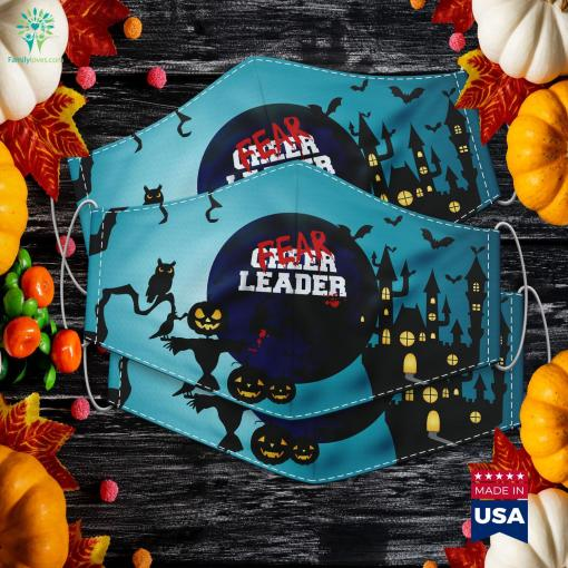 Fearleader Zombie Cheerleader Halloween Costume Easy Halloween Costumes Girl Cloth Face Mask Gift %tag familyloves.com