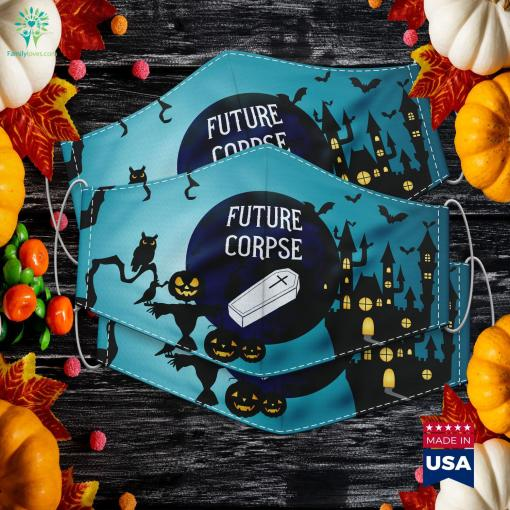 Future Corpse Funny Goth Horror Halloween Costume Stores Near Me Cloth Face Mask Gift %tag familyloves.com