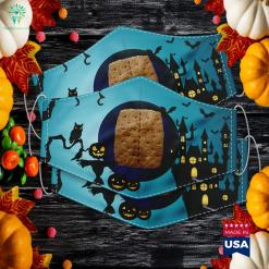 Graham Cracker Camping And Smores Group Halloween Costume Halloween Event Ideas Cloth Face Mask Gift %tag familyloves.com
