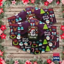 Halloween Christmas Tree Merry Christmas Shitters Full Sweater Cloth Face Mask Gift %tag familyloves.com