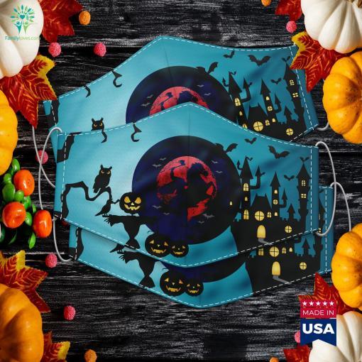 Headless Horseman Urban Legend Halloween Costume Couples Costumes Cloth Face Mask Gift %tag familyloves.com
