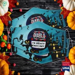 Hot Sauces Group Halloween Costumes Taco Diablo Sauce Halloween To Christmas Meme Cloth Face Mask Gift %tag familyloves.com
