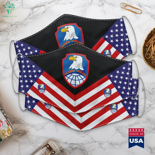 Space And Missile Defense Command Us Army Dod Emblem Cloth Face Mask Gift %tag familyloves.com