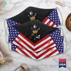 Spanish Legion Us Army Ranks Officer Cloth Face Mask Gift %tag familyloves.com