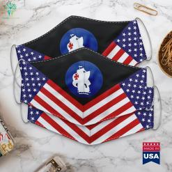 Us Army Army South Ssi Go Army Logo Cloth Face Mask Gift %tag familyloves.com
