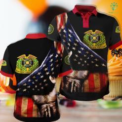 Us Army Field Artillery Quartermaster Corps Insignia Polo Shirt All Over Print %tag familyloves.com