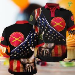 Us Army Knife Field Artillery Plaque Polo Shirt All Over Print %tag familyloves.com