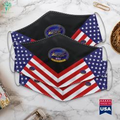 Uss Harry S. Truman Cvn 75 Us Navy American Military News Cloth Face Mask Gift %tag familyloves.com