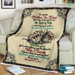 To My Dear Mother In Law You May Not Have Given Me Love Daughter In Law Canvas %tag familyloves.com
