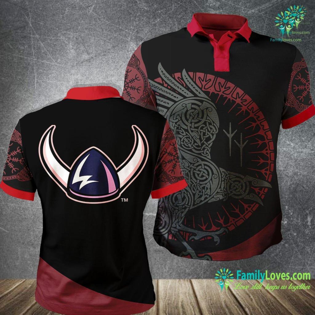 Ear Wrap Western Washington Vikings Ncaa Ppwwu05 Viking Polo Shirt All Over Print Familyloves.com