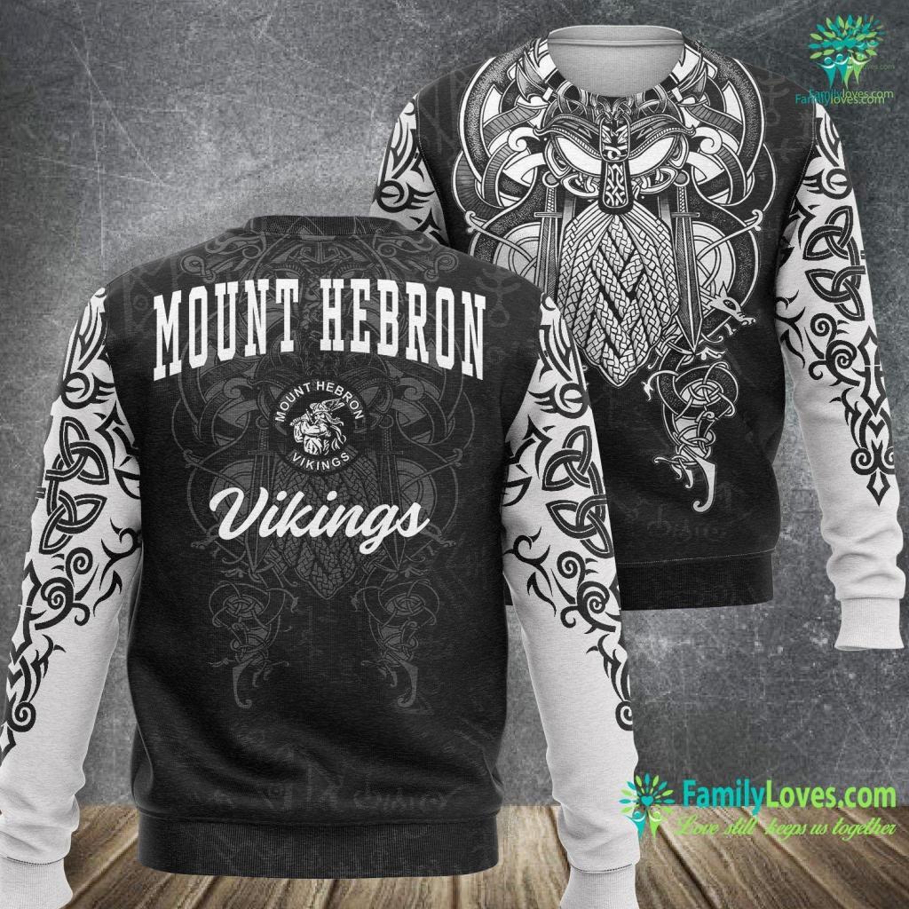 Viking Professional 3 Series Rvrf336 Mount Hebron High School Vikings C3 Viking Sweatshirt All Over Print Familyloves.com
